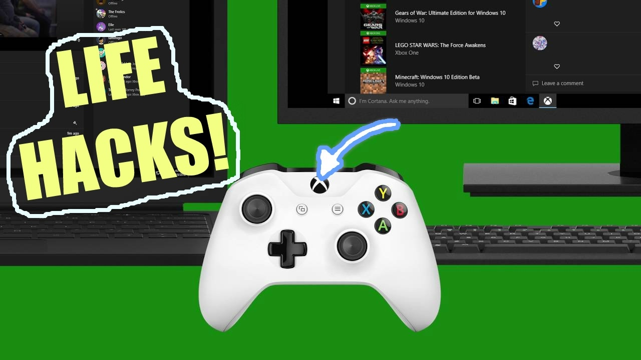 how to use xbox one controller on pc windows 10