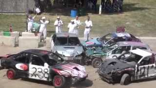 Woodstock Fair Demolition Derby | Figure 8 Races #3 & 4