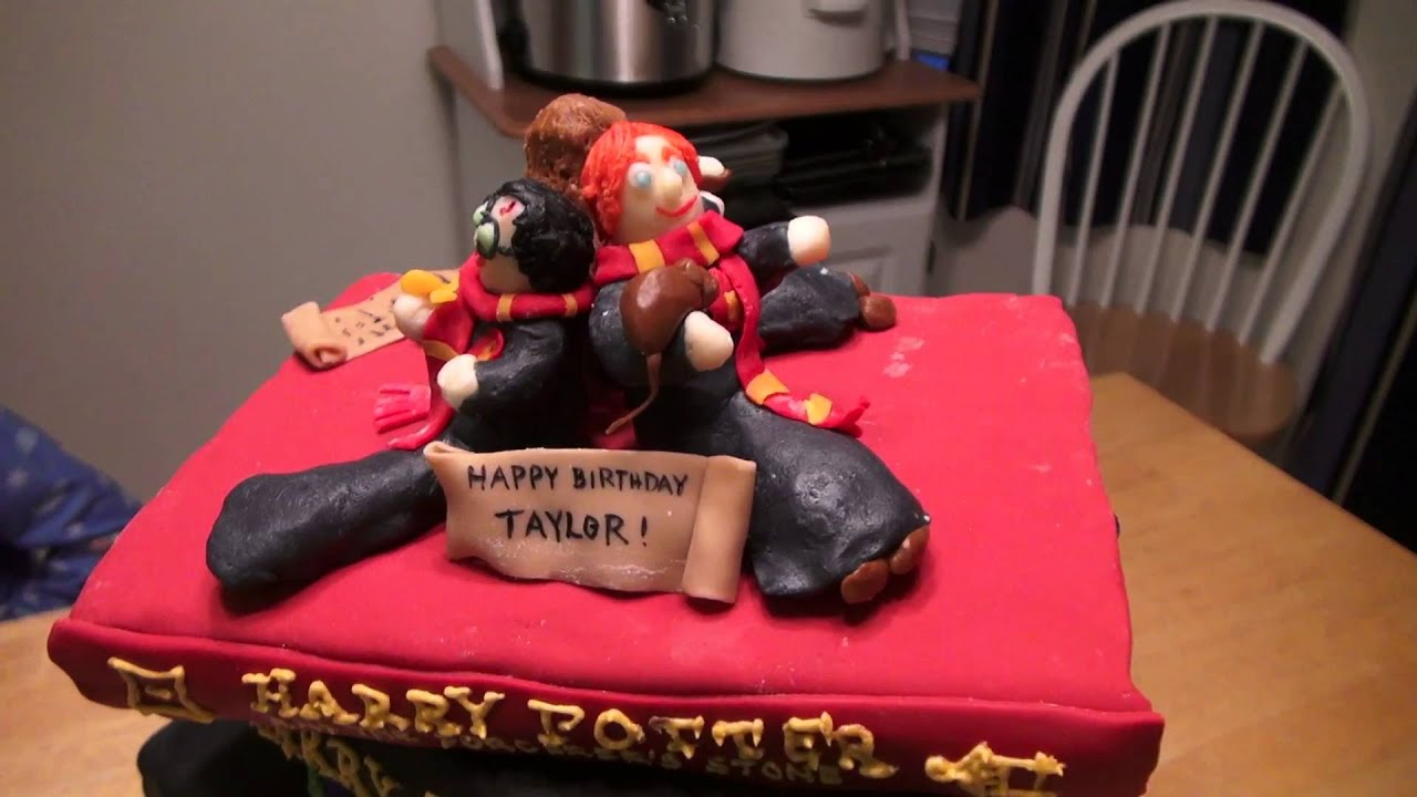 Harry Potter Birthday Cake Youtube