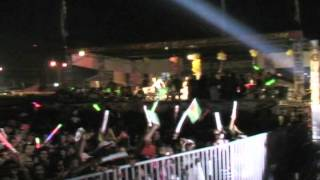 Omesh Big Indian Song - Live  at Guyana national stadium.  March 3 2012