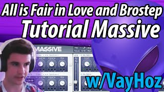 "SD Tutorial 2: Skrillex ""All is Fair in Love and Brostep"" Drop Sound in Massive 