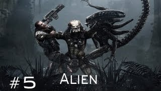 Aliens vs Predator - Walkthrough Alien Part 5