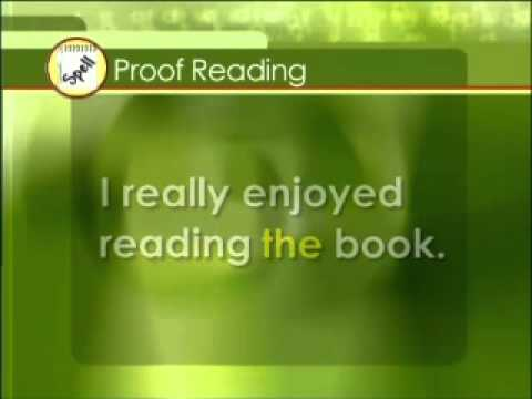 Read Write Now 4 Programme 12 Learning Point 2 - Proof Reading