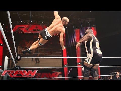 Mark Henry Vs. Cesaro - Intercontinental Title Tournament Match: Raw, April 14, 2014