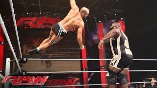 Mark Henry vs. Cesaro - Intercontinental Title Tournament Match: Raw, April 14, 2014