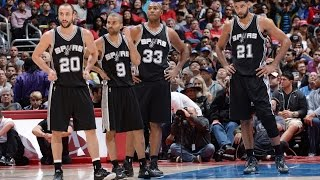 San Antonio Spurs Top 10 Plays of the 2014-15 Season
