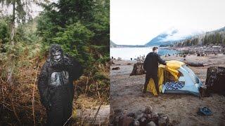 WE SAW BIGFOOT?! - Camping at Jones Lake