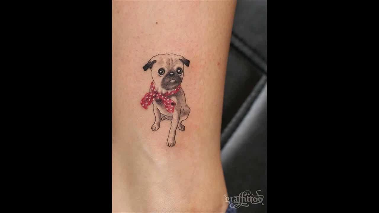 Dog tattoo ideas for women - 51 Cute Ankle Tattoos For Women Ankle Tattoo Ideas