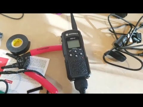 How To Build Motorola DTR Flash Cable and Update Firmware