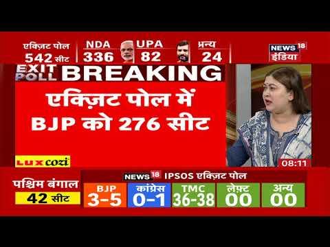 Breaking News: एग्जिट पोल में बीजेपी को अकेले बहुमत, कुल 276 सीटें निकाल ली