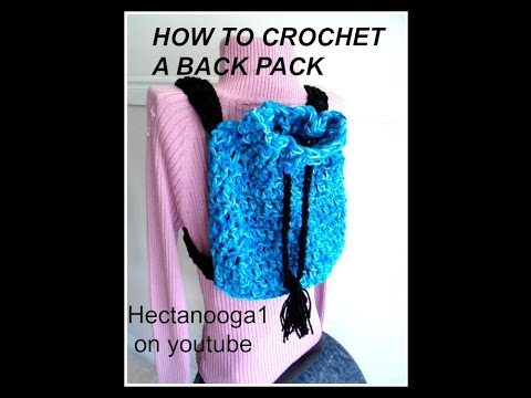 How To Crochet A Back Pack Free Crochet Pattern Back To School
