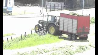 Silage time at Wilson's Farm