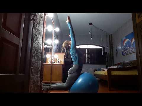 Pilates em Casa 07 Solo com Bola e Foam Roller
