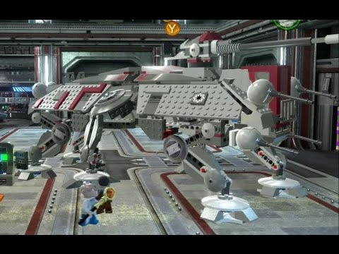 lego star wars iii: the clone wars - all republic land vehicles