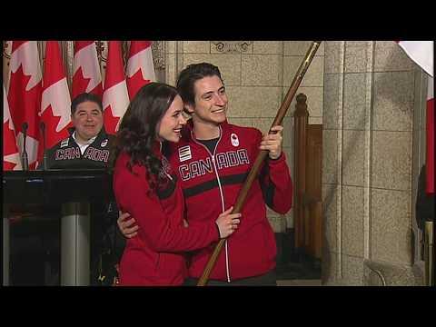 Tessa Virtue, Scott Moir named Canada's Olympic flag-bearers for Pyeongchang 2018