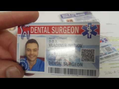 DESIGN AND PRINTING SECURITY ID CARDS