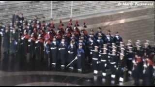 Elezione Papa Francesco - Gli onori militari