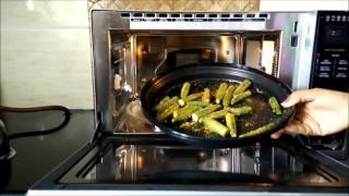 How to use Charcoal Mode in LG Charcoal Microwave Oven MJ3283BCG by Happy Pumpkins