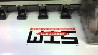 STM Robotics: Corte de Contornos con Plotter de Corte STM Robotics y Flexi 10