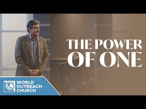 The Power of One [Tools to Combat Worry and Fear]