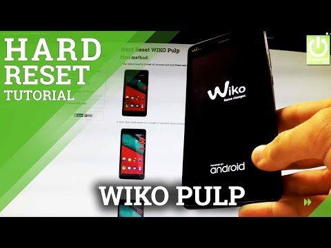 Hard Reset WIKO Pulp - REMOVE PATTERN IN WIKO