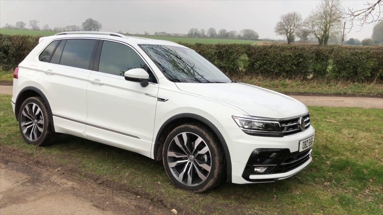 Volkswagen Tiguan R-Line 4-motion DSG 2018MY Review