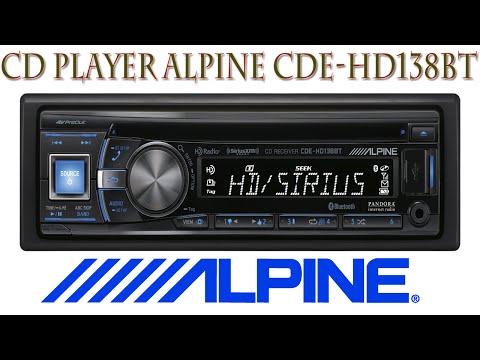 CD Player Alpine CDE-138BT