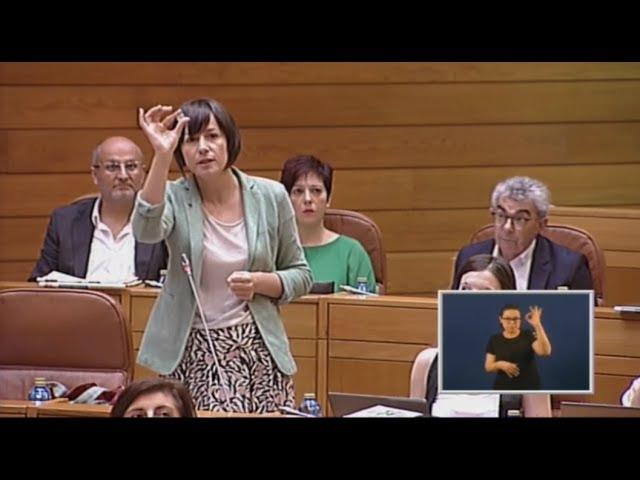 """Ana Pontón """"Cun só euro Ana Botín comprou o Popular-Pastor mentres vde estaba desaparecido"""""""