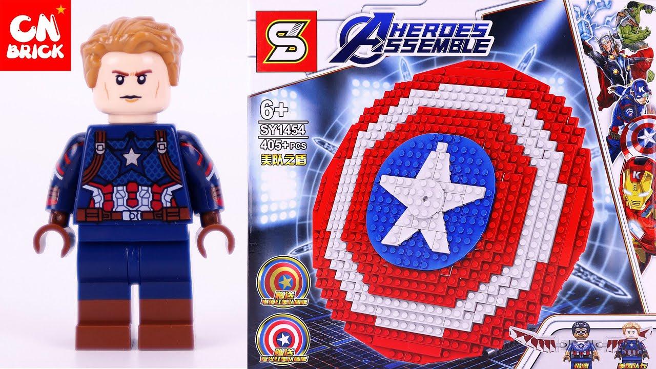 LEGO MARVEL AVENGERS CAPTAIN AMERICA SHIELD SY1454 ...