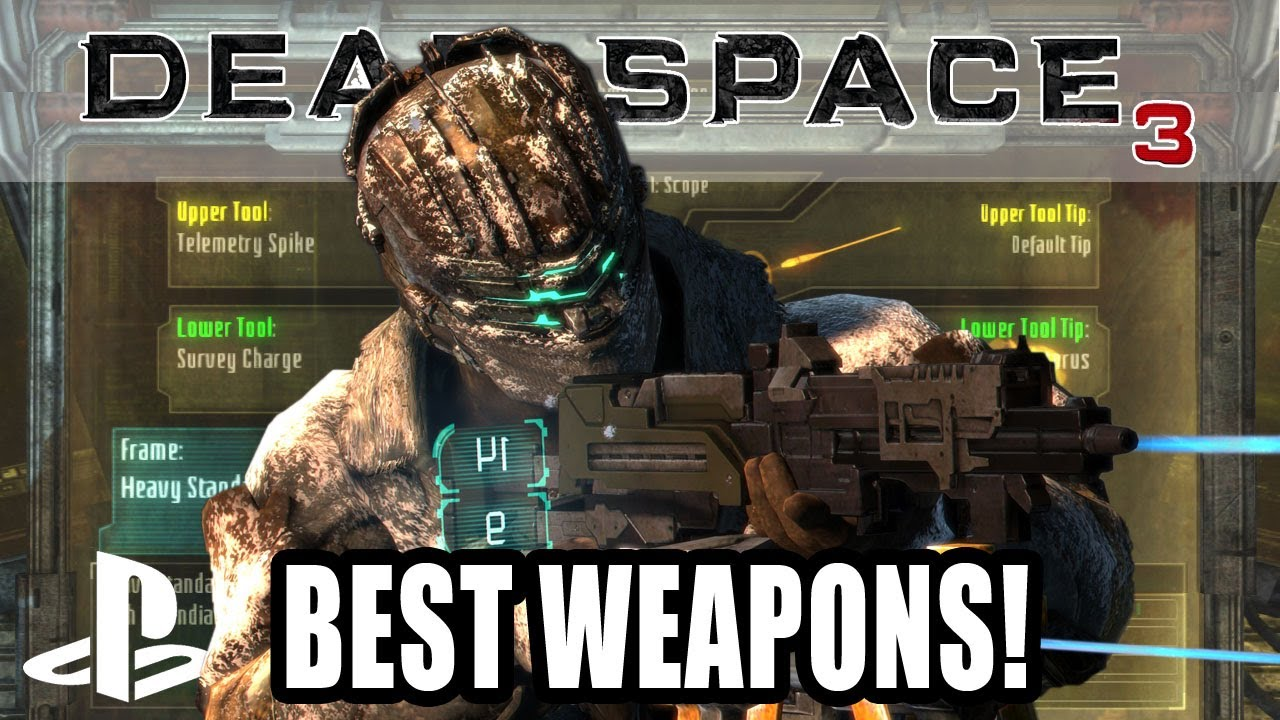 Best custom weapons in dead space 3 youtube best custom weapons in dead space 3 malvernweather Image collections