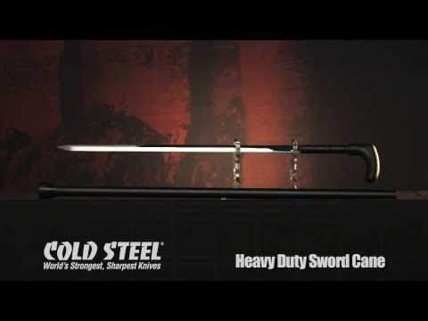 Heavy Duty Sword Cane