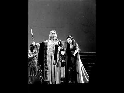 Cherubini - Medea - Date almen per pietà - Maria Callas, Nicola Zaccaria (Dallas, 1958)