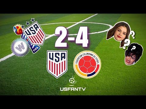 USfanTV: Colombia 4 USA 2
