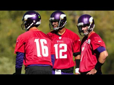 Video: Leslie Frazier talks about starting Josh Freeman