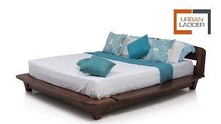 Tahiti Platform Bed @ Urbanladder.com