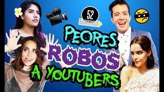 PEORES ROBOS Y ASALTOS A YOUTUBERS - 52 Rankings