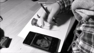 Speed Drawing: Tyler Posey