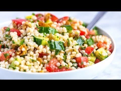 Our Favorite Lemon Herb Couscous Salad Recipe