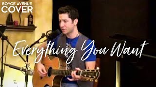 Vertical Horizon - Everything You Want (Boyce Avenue acoustic cover) on Apple & Spotify