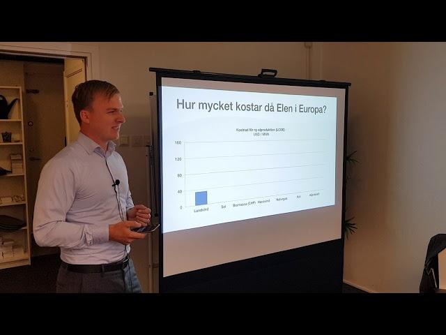 Temakväll med Centerpartiet i Malmö - Energi och elförsörjning - Del 1