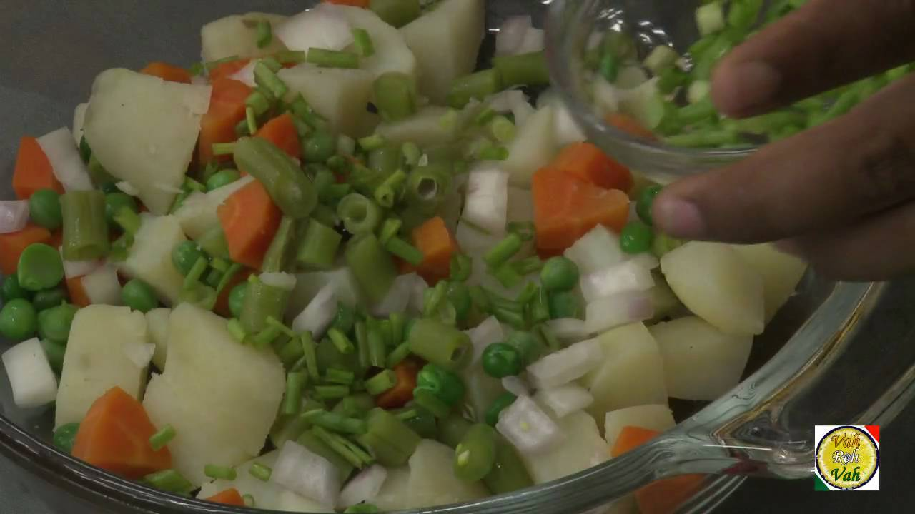 Russian Salad - By Vahchef @ Vahrehvah.com - YouTube