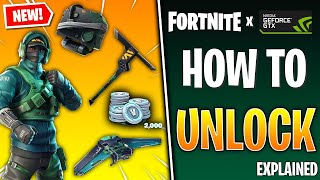 How To UNLOCK GeForce Reflex Bundle In FORTNITE!