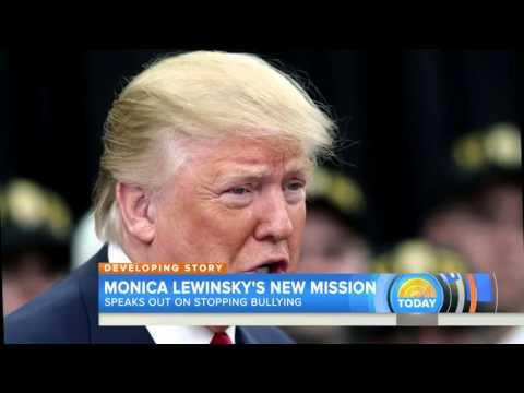 Monica Lewinsky talks about Clinton affair, bullying, Donald Trump