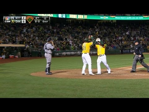 nyy@oak:-lawrie-pads-a's-lead-with-two-run-homer