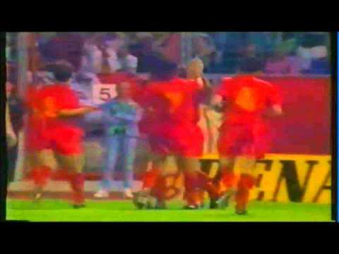 Enzo Scifo's Belgium national team goals