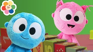 The Clean Up Song With GooGoo & GaaGaa | Pretend Play Toys for Kids | Original Song + Nursery Rhymes