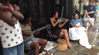 New Orleans Street Musicians Play U2