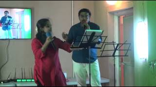 Sippi irukkuthu cover by Kalyan and Sunitha