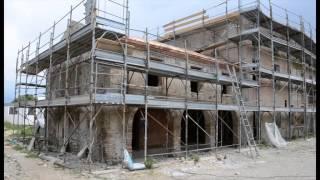 San Fior di Sotto. Ex Canonica. Le fasi del restauro