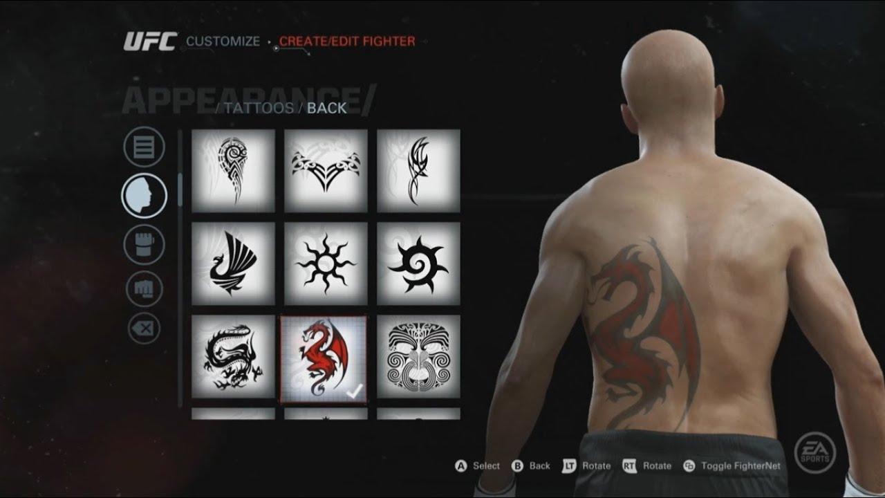 Ea Sports Ufc Tattoos Gear Walkout Songs